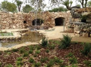 grotto at austin family gardens