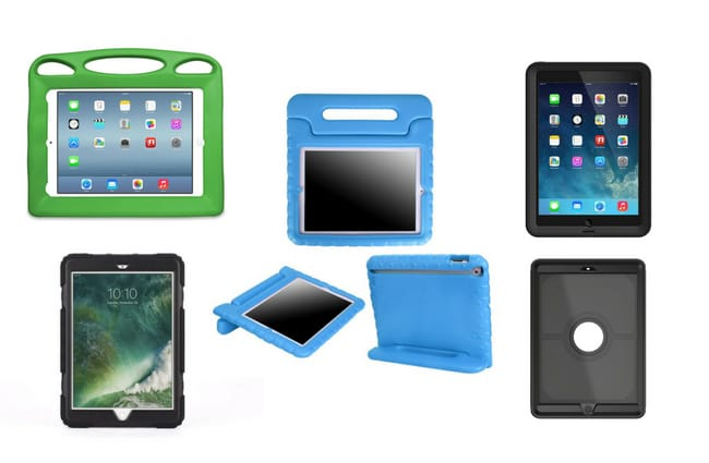Collection of kids ipad cases