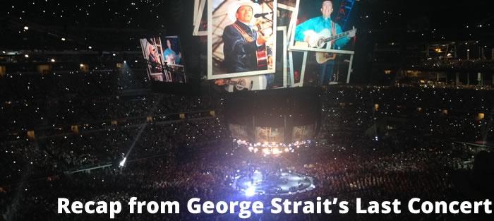 george strait last concert dallas, tx