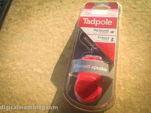 tadpole bluetooth speaker