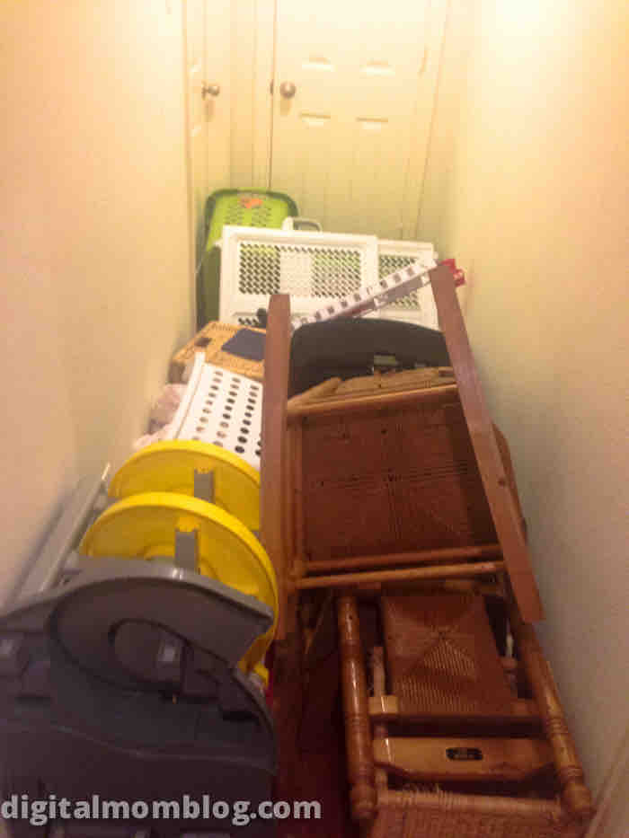 Toys Blocking the Hallway - messes my kids made