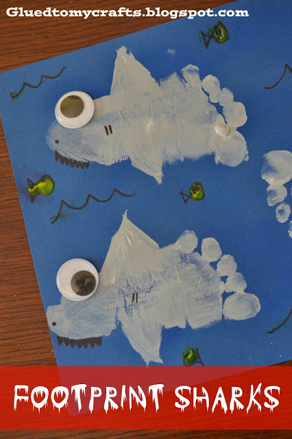 footprint shark