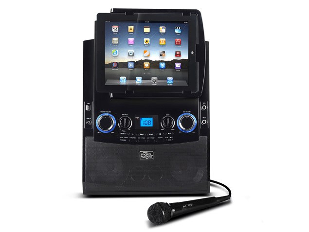 singing machine karaoke ipad