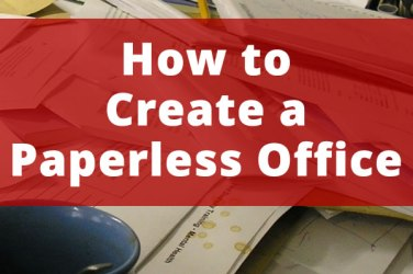 how to create a paperless office