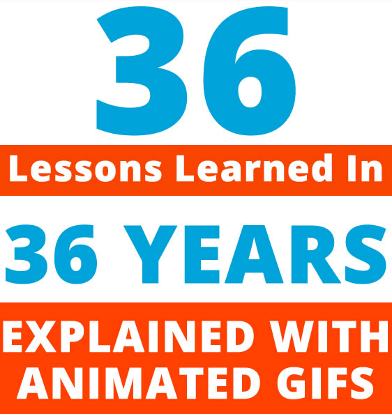 36 Lessons Learned in 36 Years With Animated Gifs