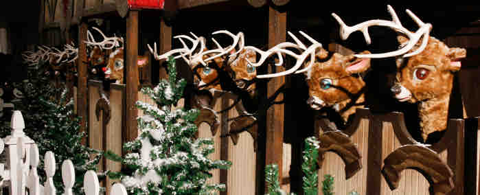 animated reindeer at the hilton anatole - Christmas Things To Do In Dallas