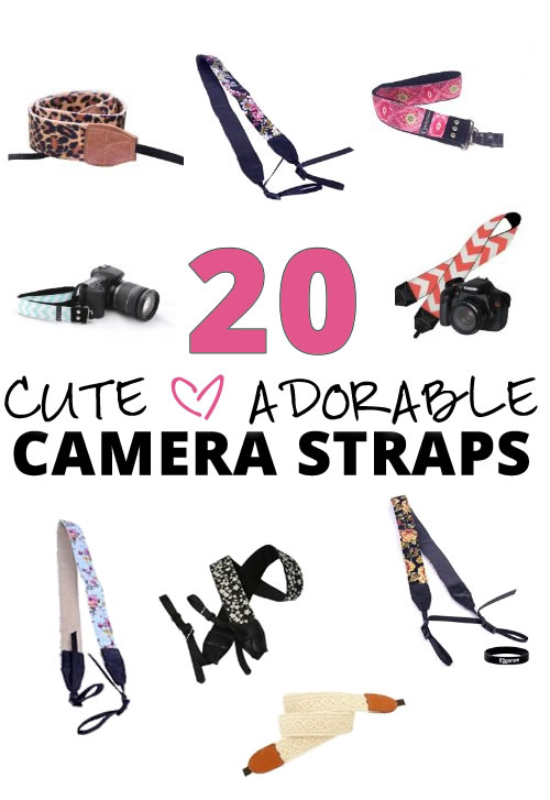 20 Cute Camera Straps – Doll Up Your Camera With An Adorable Strap!
