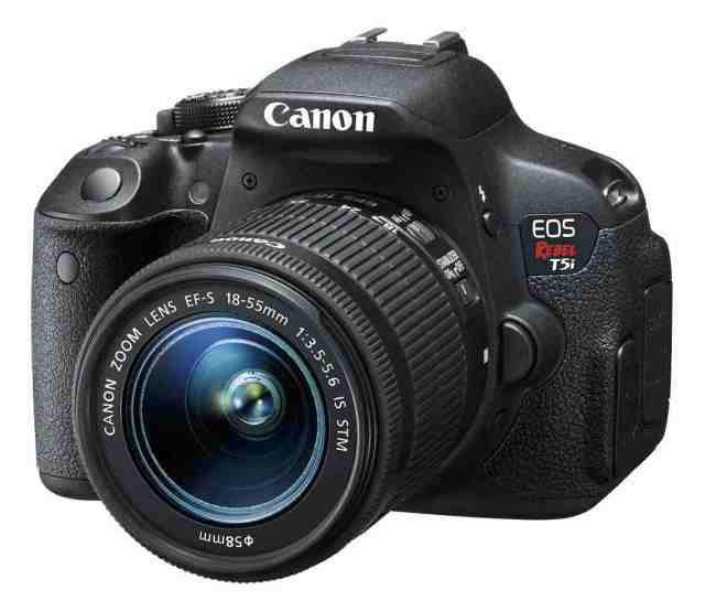 Canon t5i rebel camera