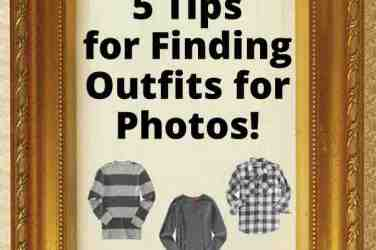 5 Tips for Finding Outfits for Photos