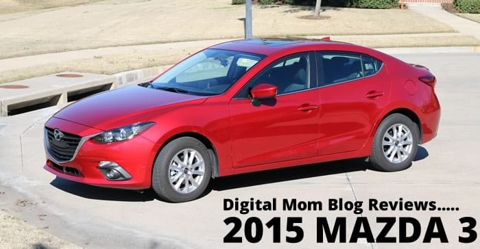 Zipping Around Town in the 2015 Mazda 3!