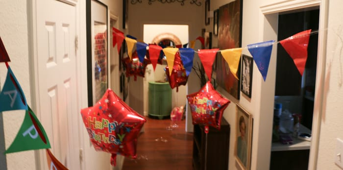 birthday decorations photo