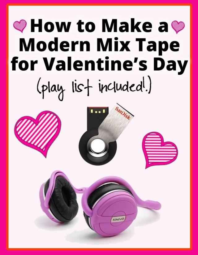 How to Make a Modern Mix Tape for Valentine's Day