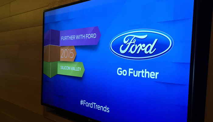 Further with Ford 2015