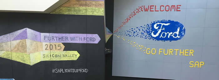SAP silicon valley Further with Ford