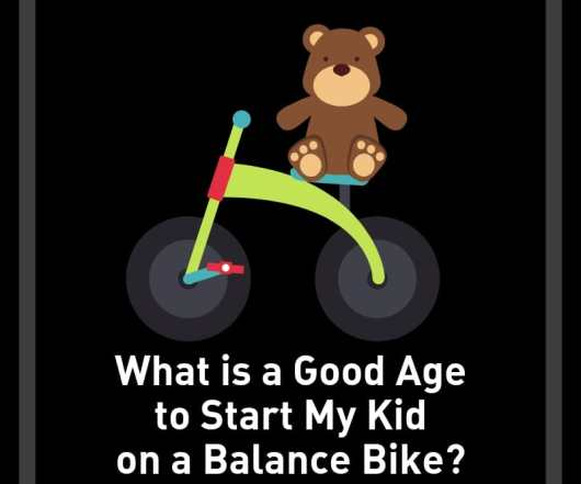 what age to start kid on balance bike