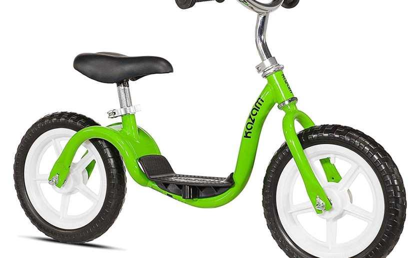 Kazam balance bike amazon only toddler bike with footrest