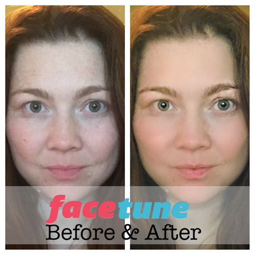 Facetune App Before and After