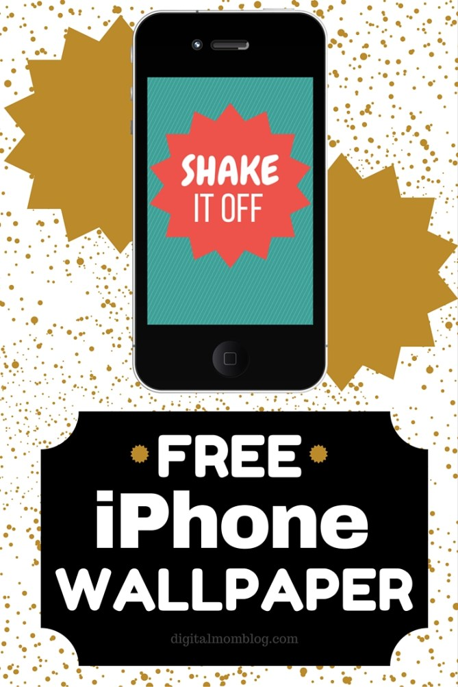 Free iPhone Wallpaper - Shake it Off