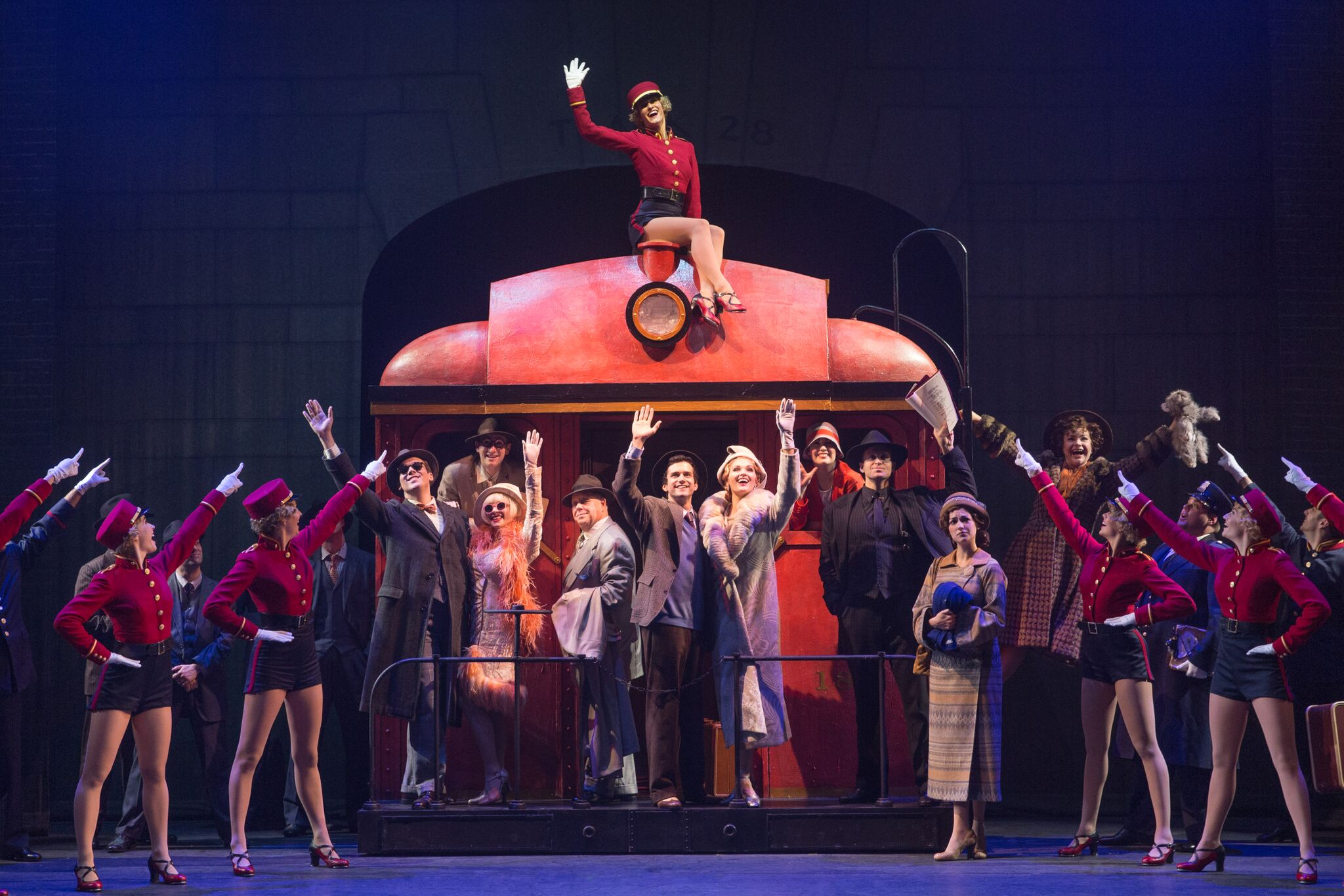 bullets over broadway dallas summer musicals