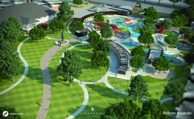 Hilton Anatole Dallas Announces JadeWaters – New Resort Style Pool Complex