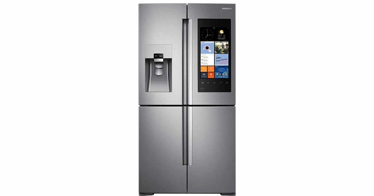 samsung hub refrigerator with screen