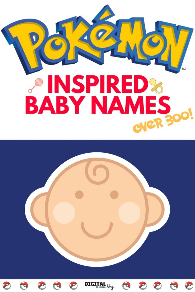 pokemon baby name ideas