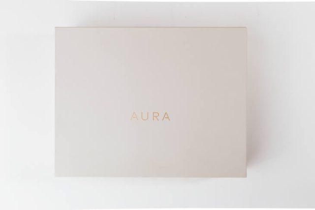 Aura Digital Photo Frame Packaging