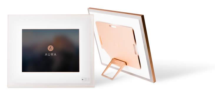 Aura Digital Photo Frame - The Most Beautiful & Smart Digital Frame Ever