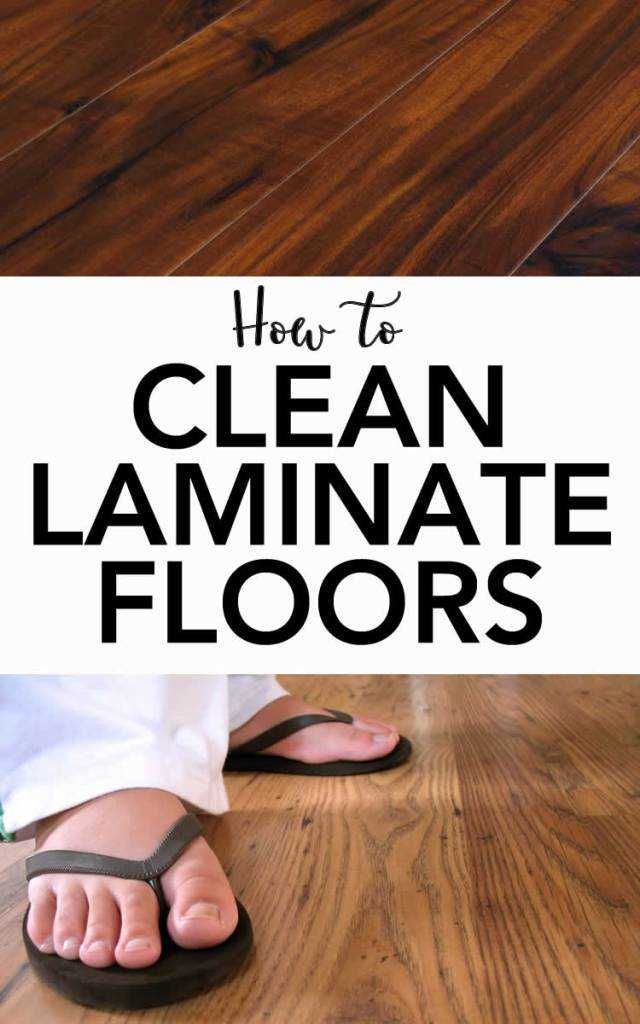 clean laminate floors - best way to clean laminate cheap & simple
