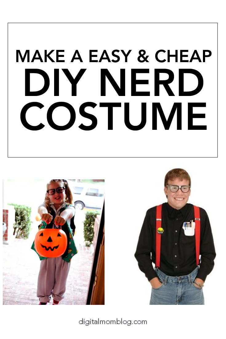 Nerd Costumes Ideas for Girls and Boys Perfect for Halloween