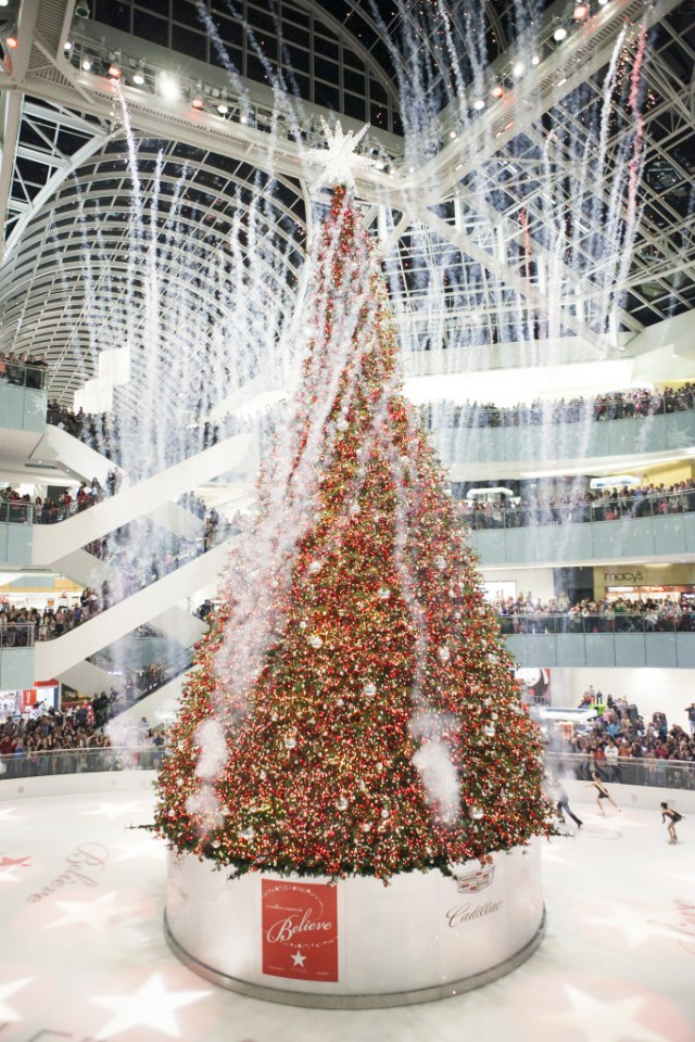 Dallas Galleria Christmas Tree