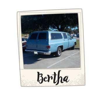 Bertha the Blue Suburban