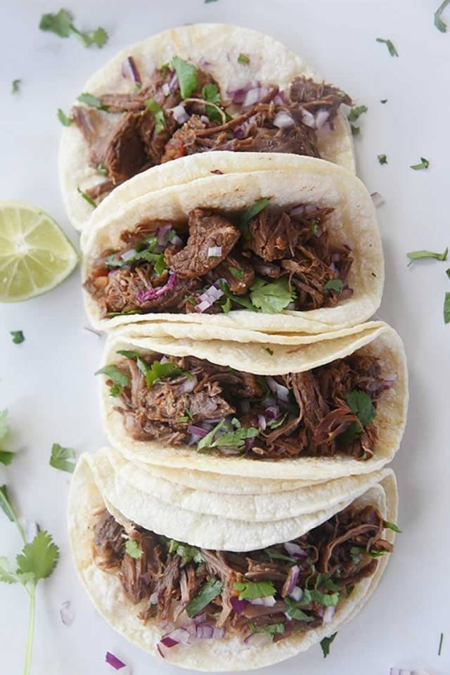 Instant Pot Shredded Mexican Beef Recipe