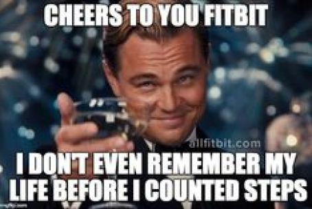 leo dicaprio fitbit meme - 50+ Hilarious Fitbit Memes - Share These With Your FitBit Friends!