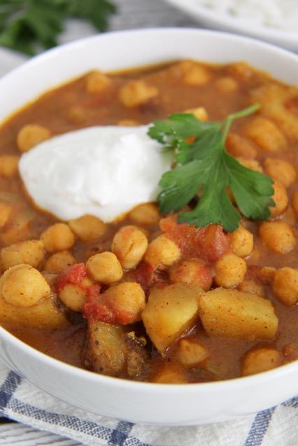 Chana Masala Instant Pot Indian Recipes