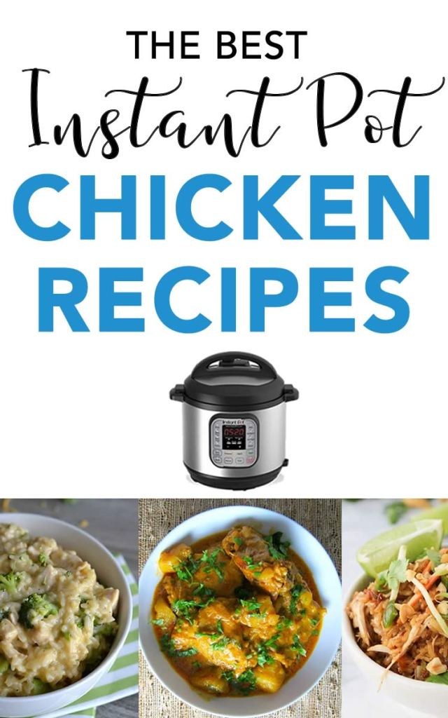 Instant pot chicken recipes best electric pressure for Chicken recipes for the instant pot