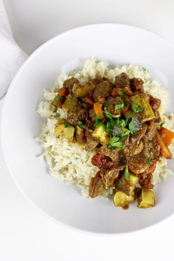 Instant Pot Lamb Curry Indian