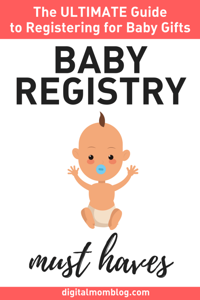 What to register for - Baby Registry Must Haves