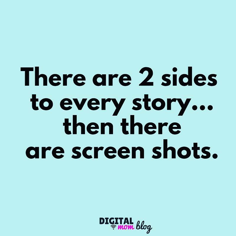 Screen Shots - Teens and social media