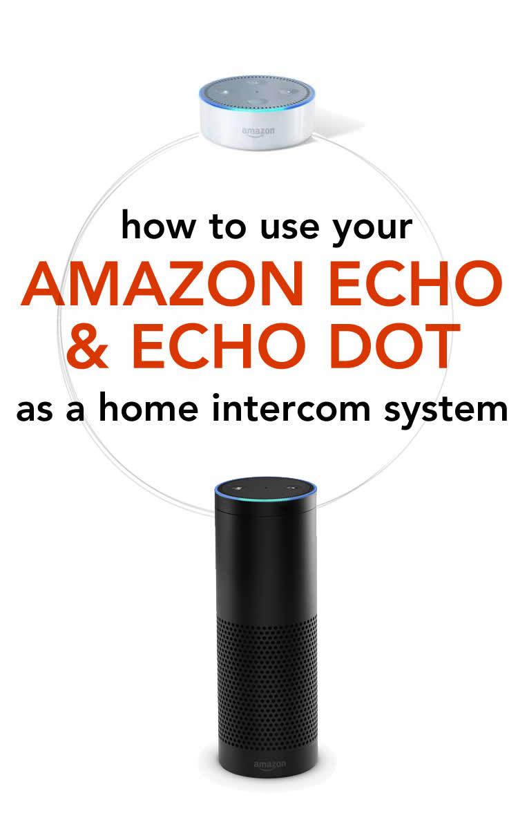 Wireless Intercom System with Amazon Alexa and Echo