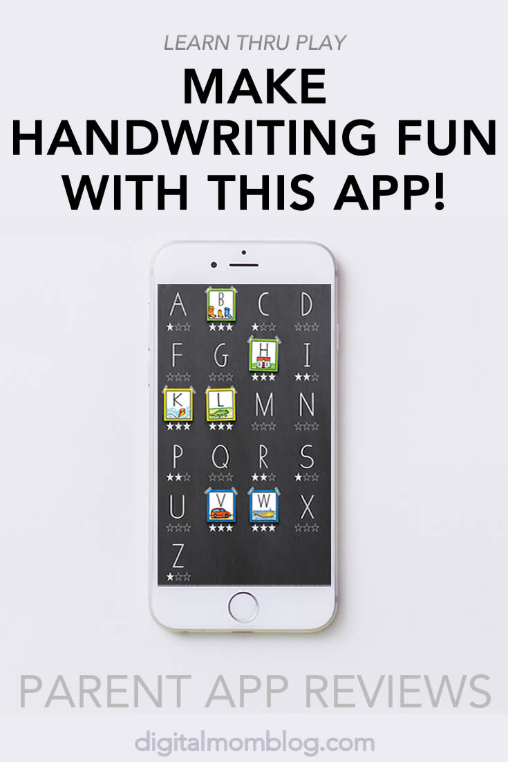 Handwriting Without Tears App