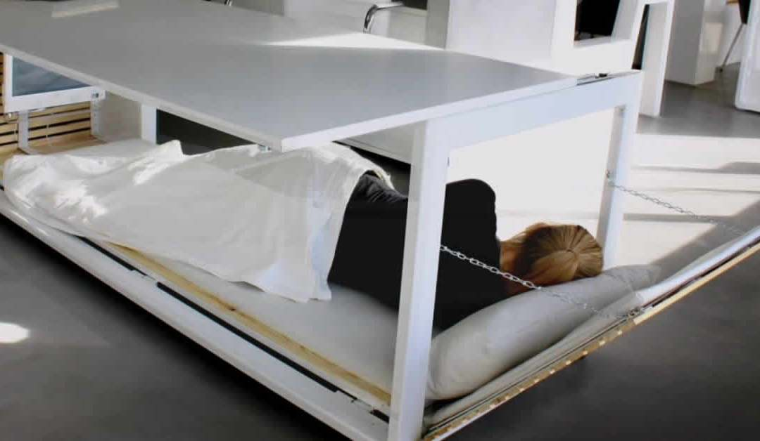 Nap Desks Could Become a Thing!