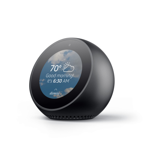 Amazon Echo Spot Alarm Clock Screen
