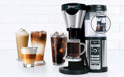 Happy National Coffee Day! Coffee Recipes and Ninja Coffee Maker Review