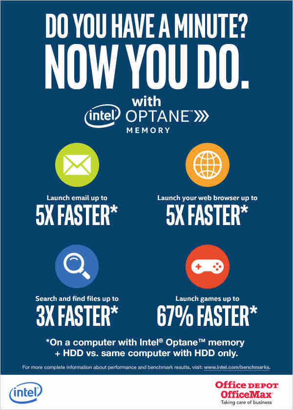 Intel Optane Memory - Productivity Tips