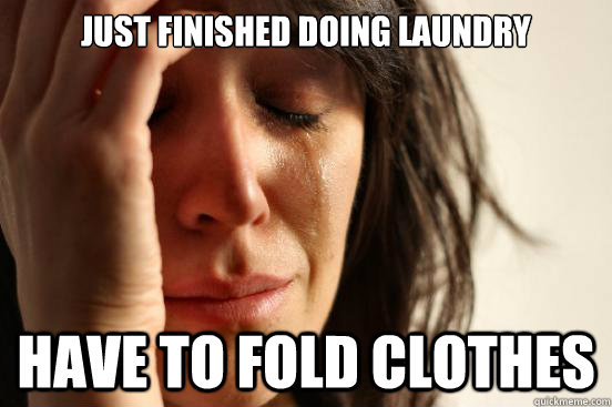 fold clothes