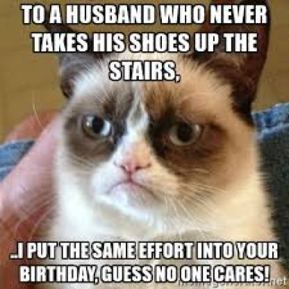 grumpy birthday