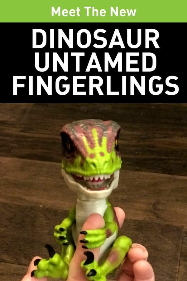 New Fingerling Toys - UNTAMED Dinosaur