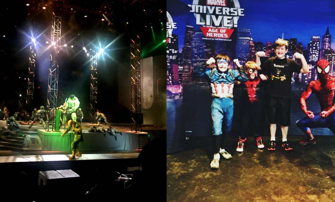 Marvel Universe Live 2018 Review – We Came, We Saw, We Met Super Heroes