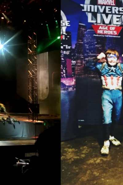 Marvel Live Review Ages of Heroes